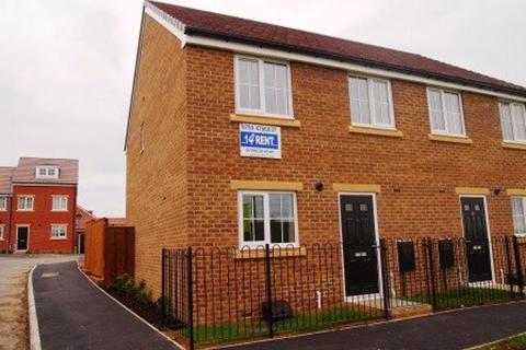 3 bedroom semi-detached house to rent - Church Square, Brandon, Durham