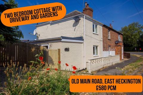 2 bedroom semi-detached house to rent - Old Main Road, East Heckington