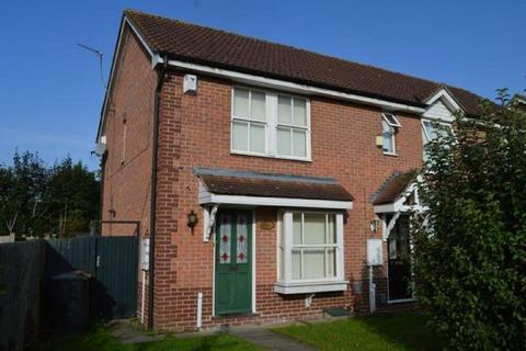 2 bedroom end of terrace house to rent - Meltham Close, Beau Manor, Northampton NN3 9QY