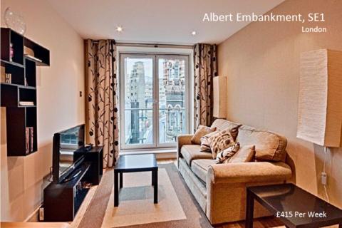 1 bedroom flat to rent - 9 Albert Embankment, London SE1