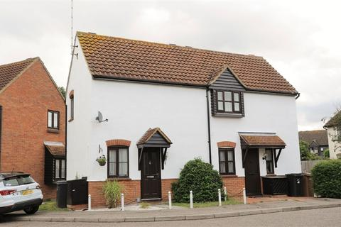 1 bedroom semi-detached house for sale - Saywell Brook, Chelmer Village, Chelmsford, Essex