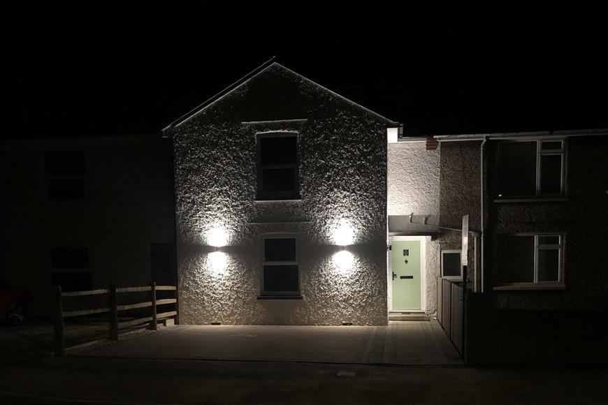 Front Elevation (Night)