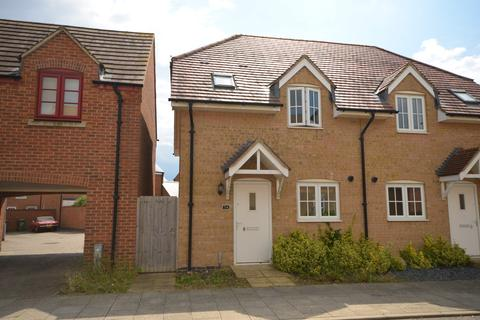 2 bedroom semi-detached house to rent - Rushton Mews, Priors Hall Park, Corby