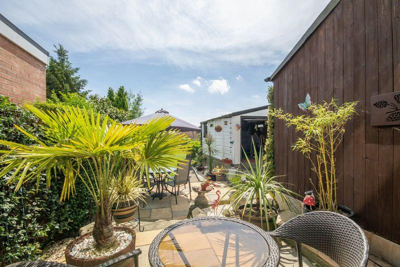 Rear Garden & Patio