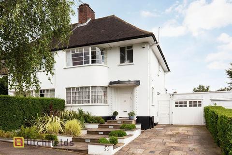4 bedroom semi-detached house for sale - Howard Walk, Hampstead Garden Suburb, London N2
