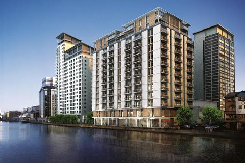 2 bedroom flat to rent - Discovery Dock West, 2 South Quay Square, Canary Wharf, London, E14 9RT