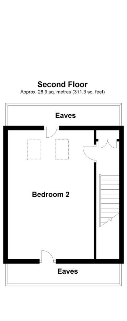 Floorplan 1 of 3: Second Floor