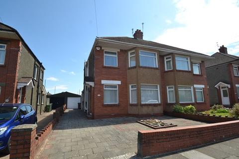 3 bedroom semi-detached house for sale - St. Brioc Road, Cardiff