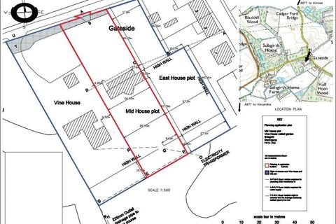 Land for sale - Mid House Plot, Vine House Walled Garden, Solsgirth