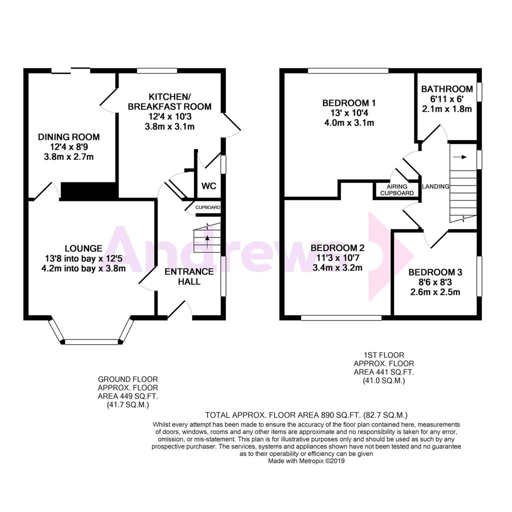 Floorplan: Woodmans Way