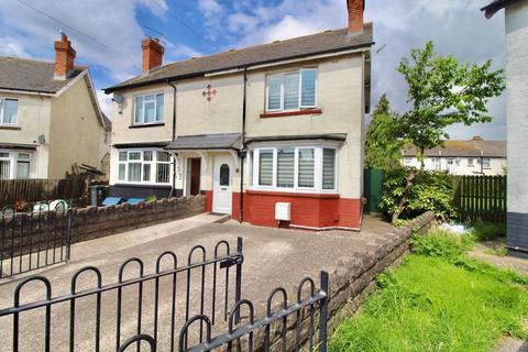 2 bedroom semi-detached house for sale - Glanmuir Road, Tremorfa, Cardiff, CF24 2QR