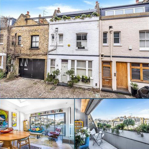 3 bedroom house for sale - Elizabeth Mews, London, NW3
