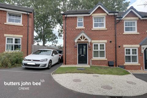 3 bedroom semi-detached house for sale - English Oak Avenue, Crewe