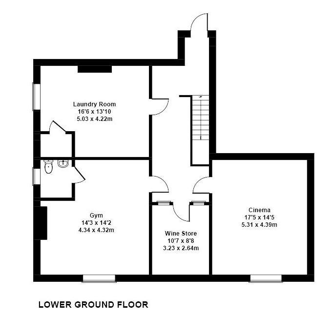 Floorplan 2 of 4: Lower Ground Floor