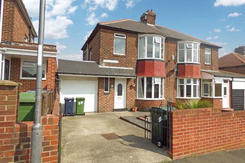 3 bedroom semi-detached house for sale - Oakfield Road, Lobley Hill, Gateshead, Tyne and Wear, NE11 0AB