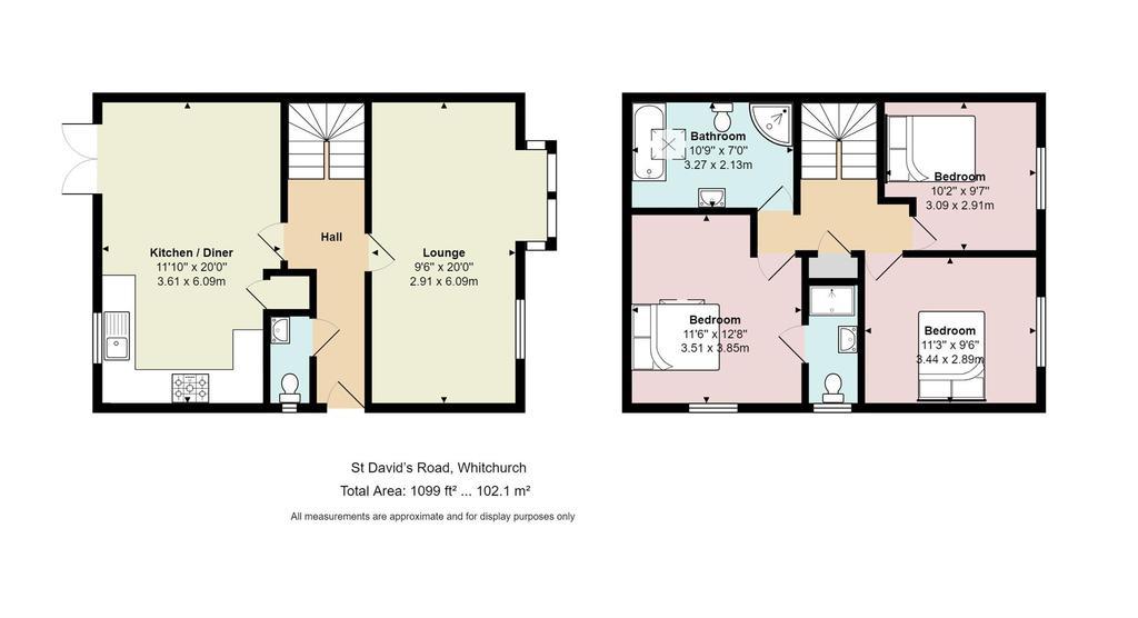Floorplan: 2 Bridge Mews, St Davids Road, Whitchurch.jpg