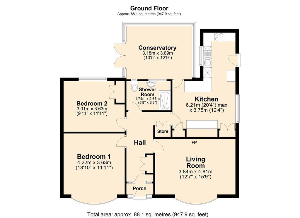 Floorplan: 306 Langer Lane.JPG