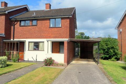 3 bedroom semi-detached house for sale - 10 Oldford Rise, Welshpool, Powys, SY21 7SZ