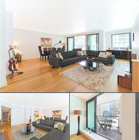 3 bedroom flat for sale - Discovery Dock Apartments East, 3 South Quay Square, Nr Canary Wharf, London, E14