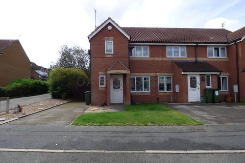 3 bedroom end of terrace house for sale - Vyner Close, Thorpe Astley