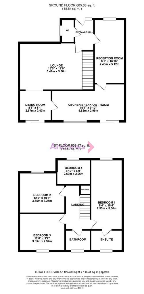 Floorplan: Manor Way