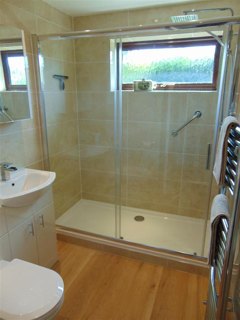 Luxury refitted shower room