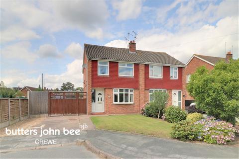 3 bedroom semi-detached house for sale - Southbank Avenue, Shavington, Crewe