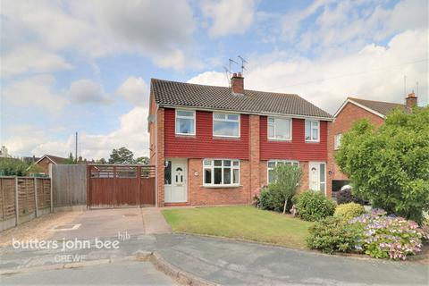 3 bedroom semi-detached house for sale - Southbank Avenue, Crewe