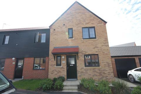 3 bedroom semi-detached house for sale - Countess Way, Earsdon View, Newcastle Upon Tyne, NE27