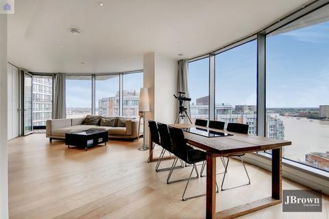 3 bedroom apartment for sale - Charrington Tower, 11 Biscayne Avenue, Canary Wharf, London, E14