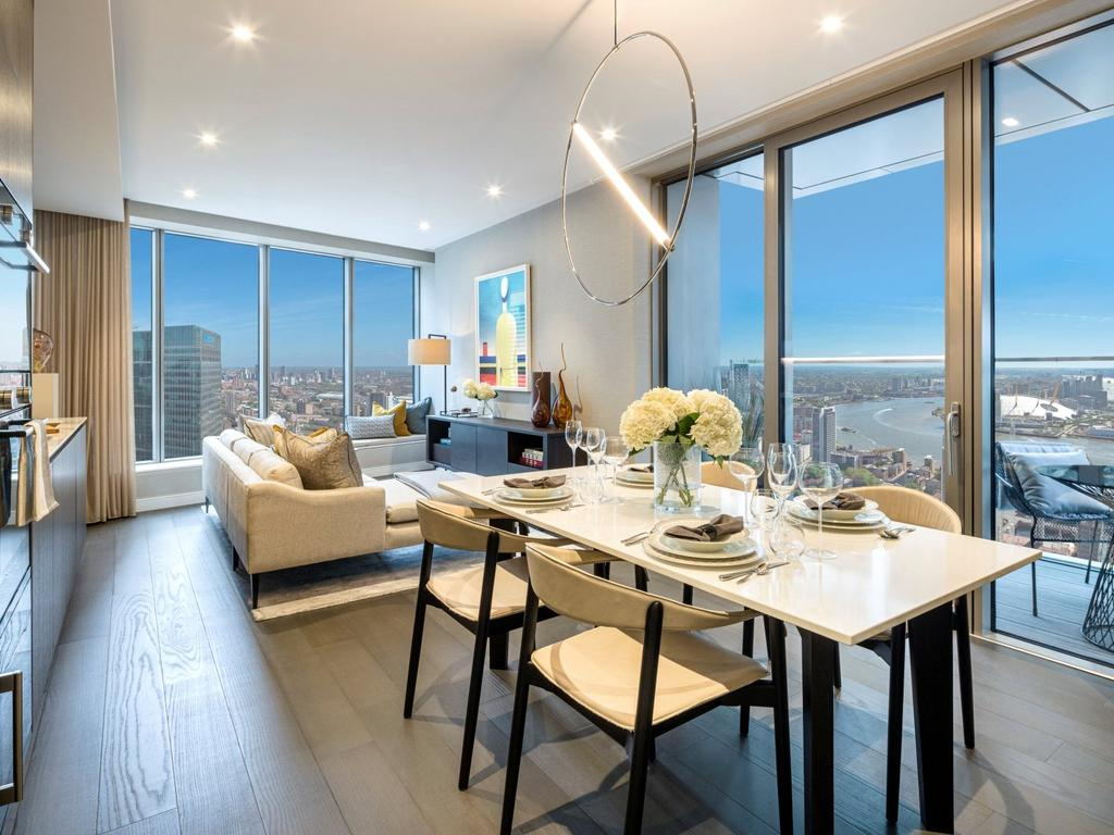 10 Park Drive, Canary Wharf, E14 2 bed apartment for sale ...