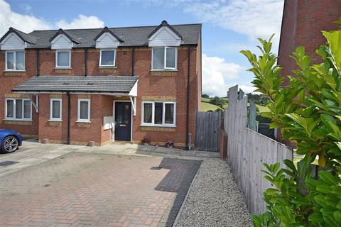 3 bedroom semi-detached house for sale - 2, Brynmor Park, Newtown, Powys, SY16