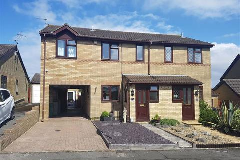 3 bedroom semi-detached house for sale - Churchfields, Barry
