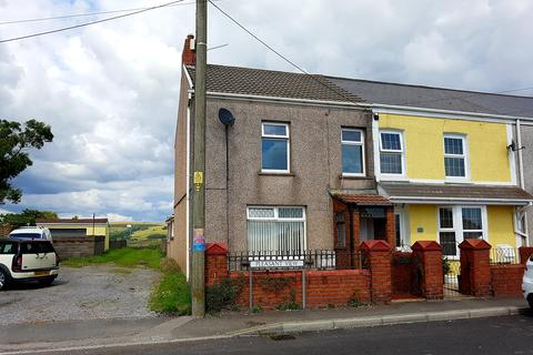 3 bedroom end of terrace house for sale - PLEASANT VIEW, CEFN CRIBWR, BRIDGEND CF32