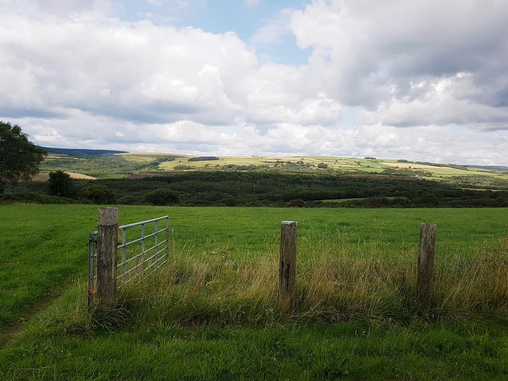 Farm fields to rear