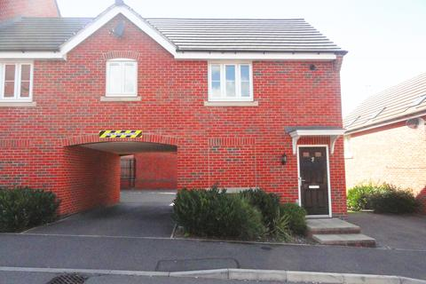 2 bedroom semi-detached house to rent - Copgrove Close, Leicester LE5