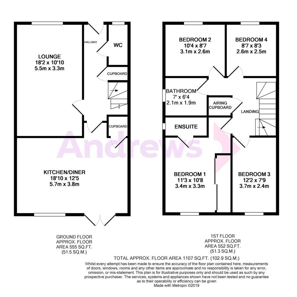 Floorplan: Maple Walk