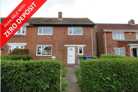 3 bedroom semi-detached house to rent - Patterdale Road, Blyth