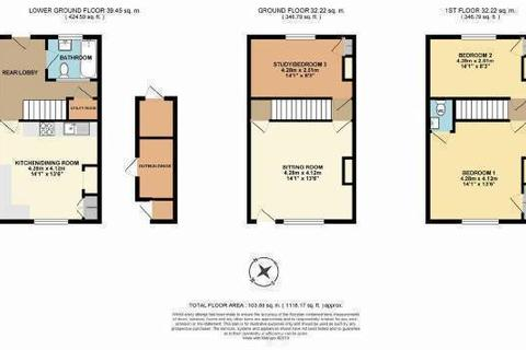3 bedroom terraced house for sale - Northgrove Terrace, High Street, Hawkhurst, Kent TN18 4AQ