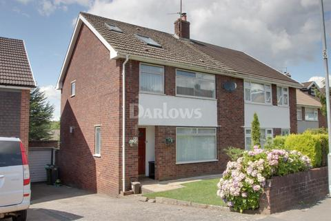 3 bedroom semi-detached house for sale - Woolaston Avenue, Lakeside, Cardiff