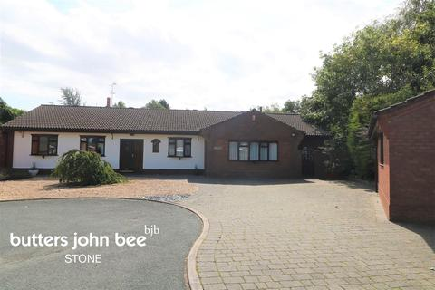 3 bedroom bungalow for sale - Maple Close, Yarnfield, Near Stone