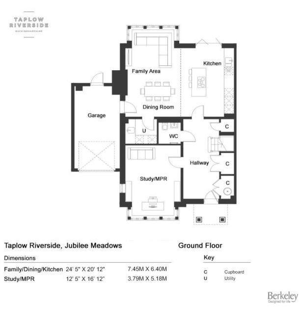 Floorplan 1 of 3: Ground