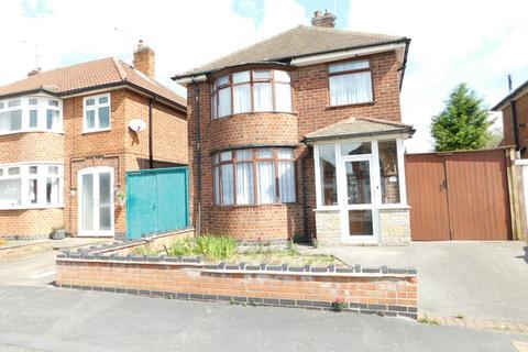 3 bedroom detached house for sale - Brockenhurst Drive, Leicester, LE3