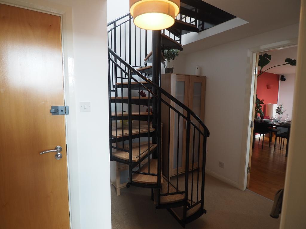 Hall & Spiral Staircase
