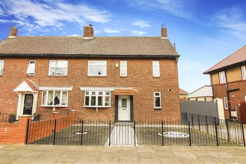 3 bedroom semi-detached house for sale - Elmtree Gardens, Whitley Bay, Tyne And Wear