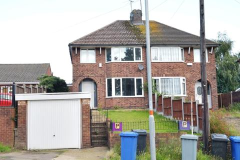 3 bedroom semi-detached house to rent - with Garage - Rothwell Road, Kettering