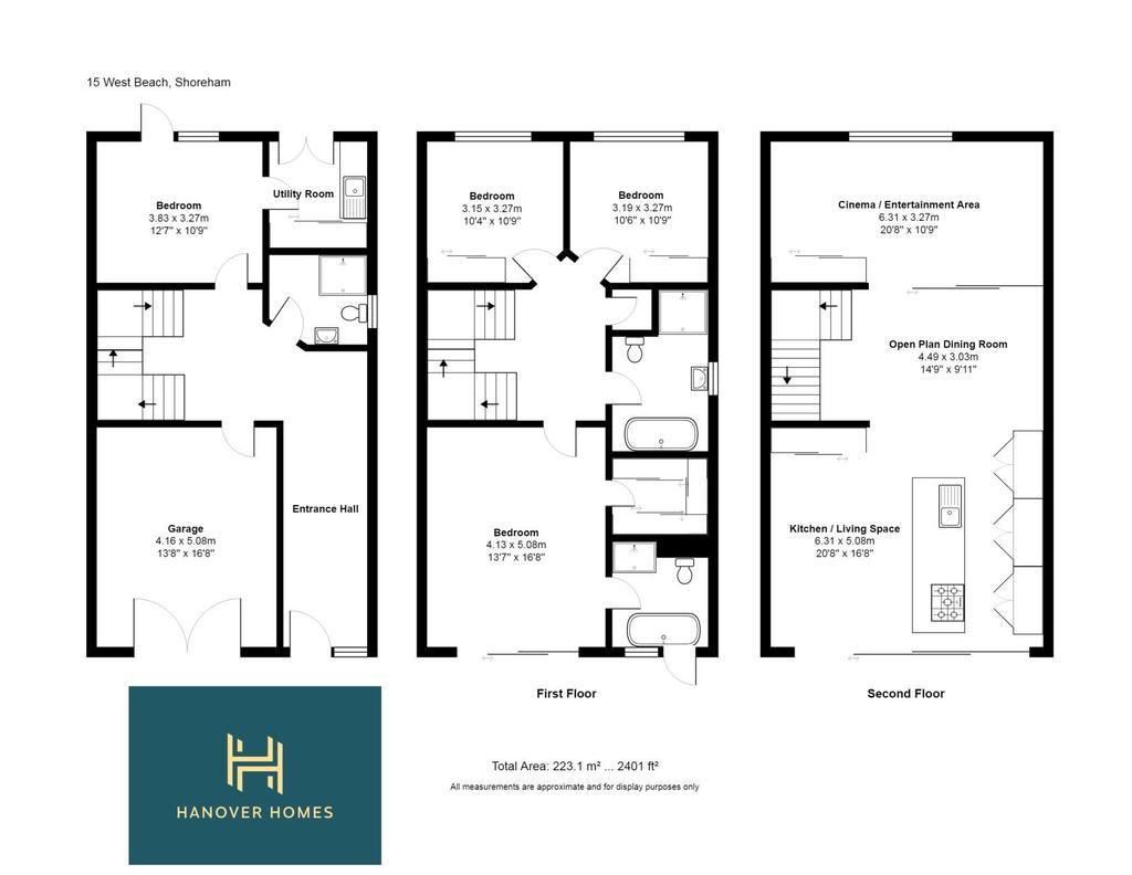 Floorplan: 15 West Beach, Shoreham FP (2)