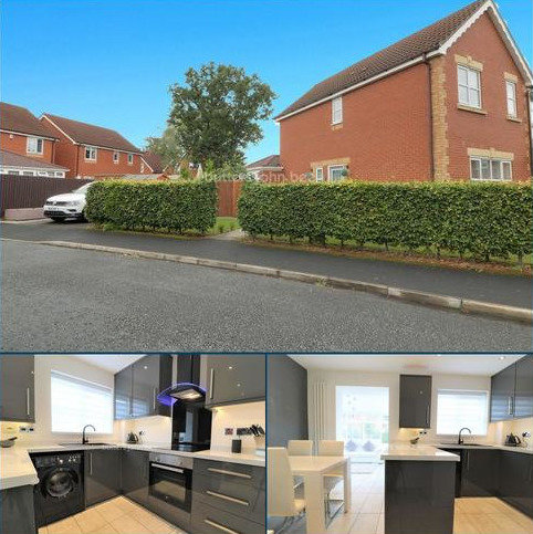 3 bedroom end of terrace house for sale - Langley Drive, Crewe