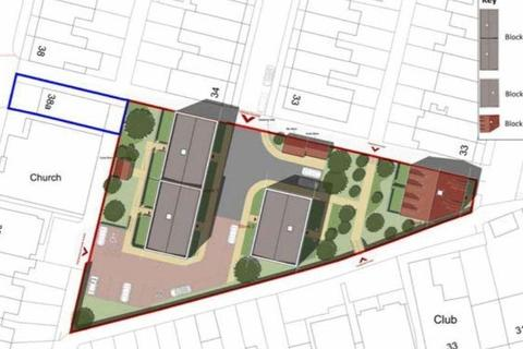 Land for sale - DEVELOPMENT OPPORTUNITY PLANNING APPROVED FOR 23 FLAT IN SN1