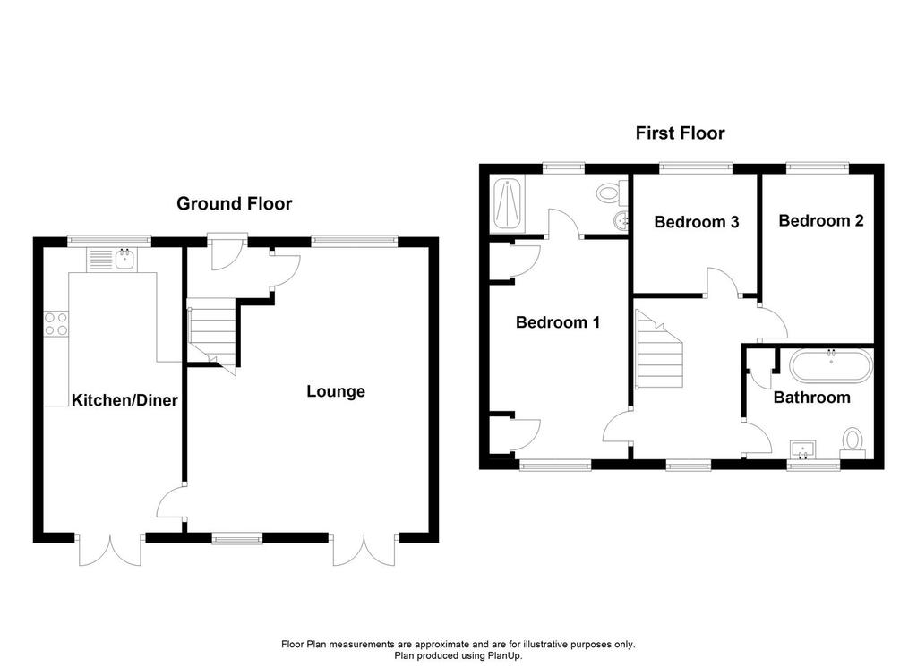 Floorplan: Church Cottage, Tugby.JPG